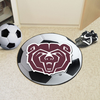 "27"" Missouri State University Soccer Ball Round Mat"