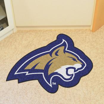 """Montana State University Mascot Mat - """"Bobcat"""" Logo"""