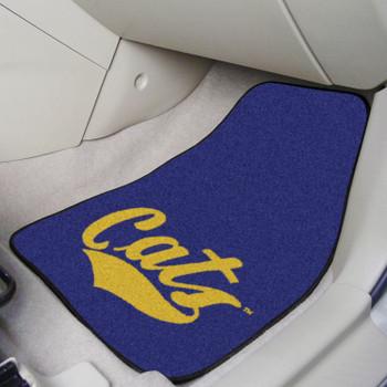 Montana State University Blue Carpet Car Mat, Set of 2