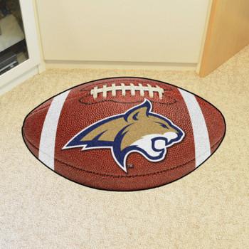 """20.5"""" x 32.5"""" Montana State University Football Shape Mat"""