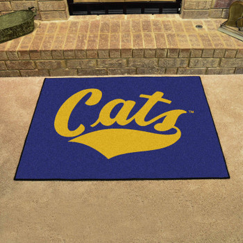 "33.75"" x 42.5"" Montana State University All Star Blue Rectangle Mat"