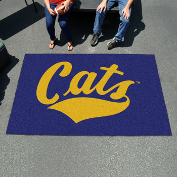 "59.5"" x 94.5"" Montana State University Blue Rectangle Ulti Mat"