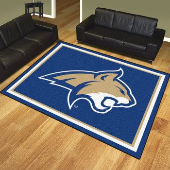 8' x 10' Montana State University Blue Rectangle Rug