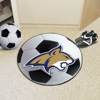 "27"" Montana State University Soccer Ball Round Mat"