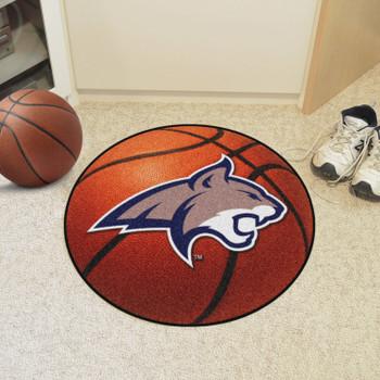 """27"""" Montana State University Basketball Style Round Mat"""