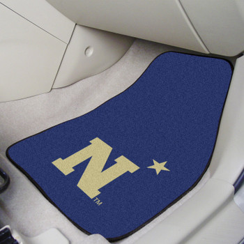 U.S. Naval Academy Carpet Car Mat, Set of 2