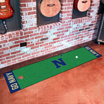 "18"" x 72"" U.S. Naval Academy Putting Green Runner Mat"