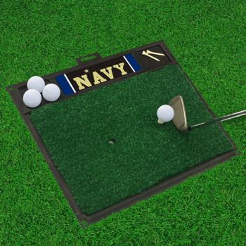 "20"" x 17"" U.S. Naval Academy Golf Hitting Mat"