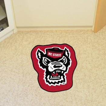 """North Carolina State University Mascot Mat - """"Wolf"""" Logo"""