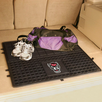 "31"" North Carolina State University Heavy Duty Vinyl Cargo Trunk Mat"