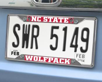 North Carolina State University License Plate Frame