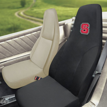 "North Carolina State University Car Seat Cover - ""NCS"" Primary Logo"