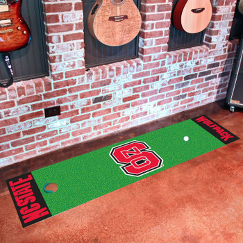 "18"" x 72"" North Carolina State University Putting Green Runner Mat"
