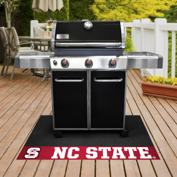 "26"" x 42"" North Carolina State University Red Grill Mat"
