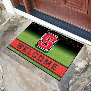 "18"" x 30"" North Carolina State University Crumb Rubber Door Mat"