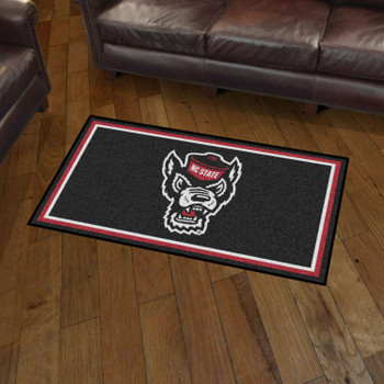 3' x 5' North Carolina State University Rectangle Rug
