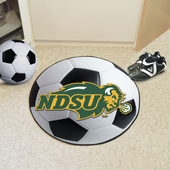 "27"" North Dakota State University Soccer Ball Round Mat"