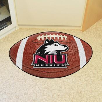 "20.5"" x 32.5"" Northern Illinois University Football Shape Mat"