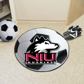 "27"" Northern Illinois University Soccer Ball Round Mat"
