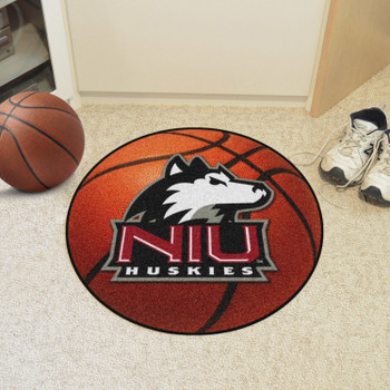 "27"" Northern Illinois University Basketball Style Round Mat"