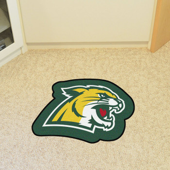"Northern Michigan University Mascot Mat - ""Wildcat"" Logo"
