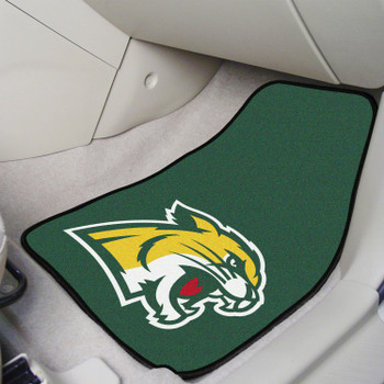 Northern Michigan University Green Carpet Car Mat, Set of 2