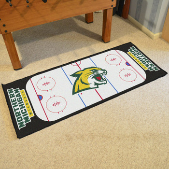 "30"" x 72"" Northern Michigan University Rink Runner Mat"