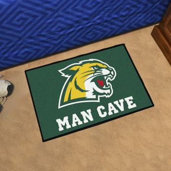 "19"" x 30"" Northern Michigan University Man Cave Starter Green Rectangle Mat"