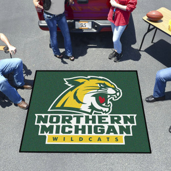 "59.5"" x 71"" Northern Michigan University Green Tailgater Mat"