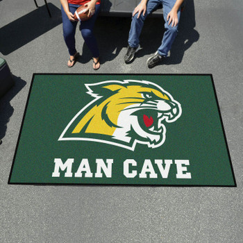 "59.5"" x 94.5"" Northern Michigan University Man Cave Green Rectangle Ulti Mat"
