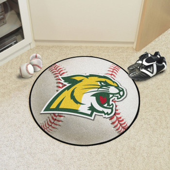 "27"" Northern Michigan University Baseball Style Round Mat"