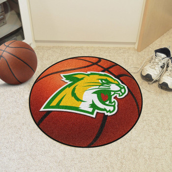 "27"" Northern Michigan University Basketball Style Round Mat"