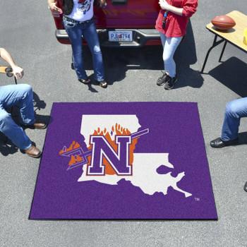 "59.5"" x 71"" Northwestern State Purple Tailgater Mat"