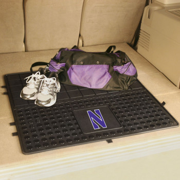 "31"" Northwestern University Heavy Duty Vinyl Cargo Trunk Mat"