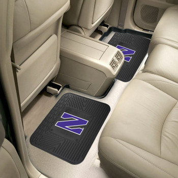 Northwestern University Heavy Duty Vinyl Car Utility Mats, Set of 2