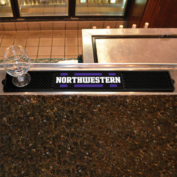Northwestern University Vinyl Drink Mat