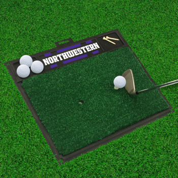 "20"" x 17"" Northwestern University Golf Hitting Mat"