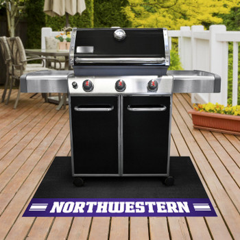 "26"" x 42"" Northwestern University Grill Mat"