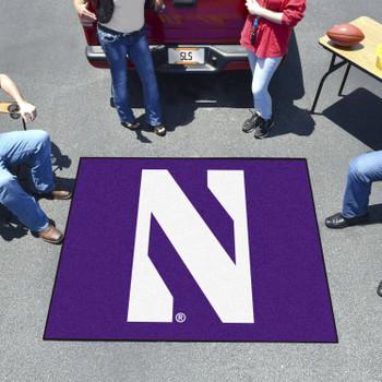 "59.5"" x 71"" Northwestern University Purple Tailgater Mat"