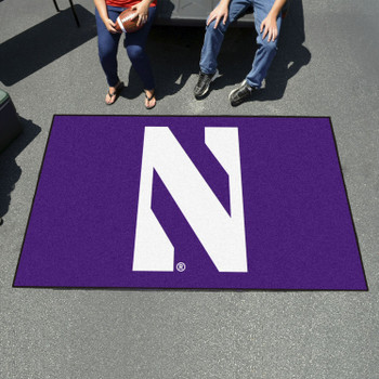 "59.5"" x 94.5"" Northwestern University Purple Rectangle Ulti Mat"