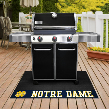 "26"" x 42"" Notre Dame Fighting Irish Grill Mat"