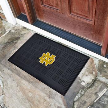 "19.5"" x 31.25"" Notre Dame Medallion Rectangle Door Mat"