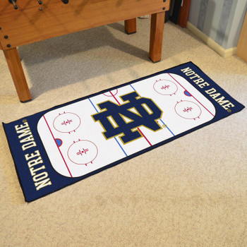 """30"""" x 72"""" Notre Dame Rink Runner Mat"""