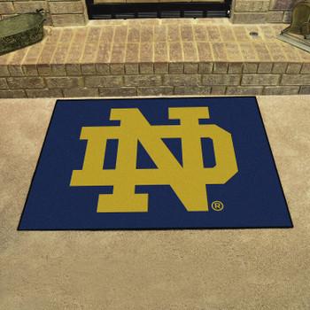 """33.75"""" x 42.5"""" Notre Dame All Star Rectangle Mat"""