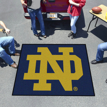 "59.5"" x 71"" Notre Dame Tailgater Mat"