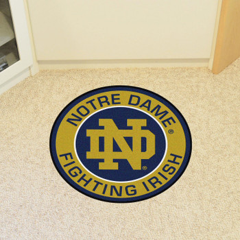 "27"" Notre Dame Roundel Round Mat"
