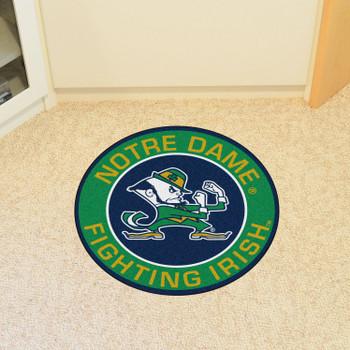"""27"""" Notre Dame Fighting Irish Roundel Round Mat"""