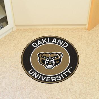 """27"""" Oakland University Roundel Round Mat"""