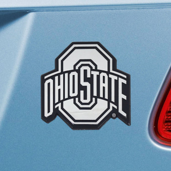 Ohio State University Chrome Emblem, Set of 2