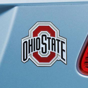 Ohio State University Red Color Emblem, Set of 2